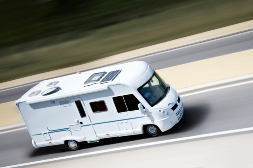 RV on the Highway
